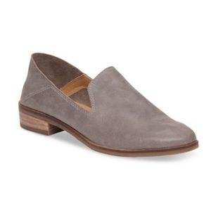 Lucky Brand Dark Driftwood Cahill Leather Loafers